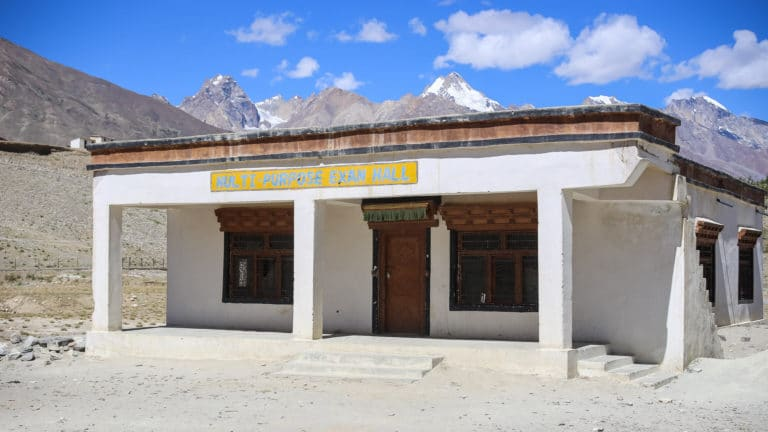 Examination Hall at the LMHS in Zanskar
