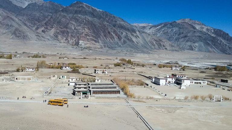 LMHS campus in Zanskar