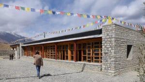 Ecole LMHS au Zanskar - nouveau bâtiment