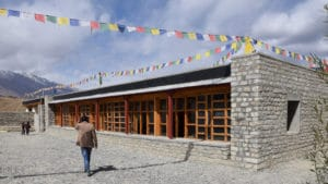 LMHS in Zansakr - the new building