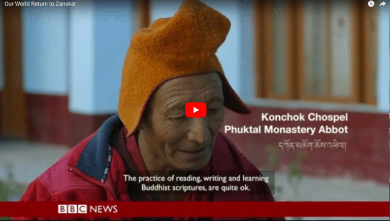 Our World Returns to Zanskar (BBC News)