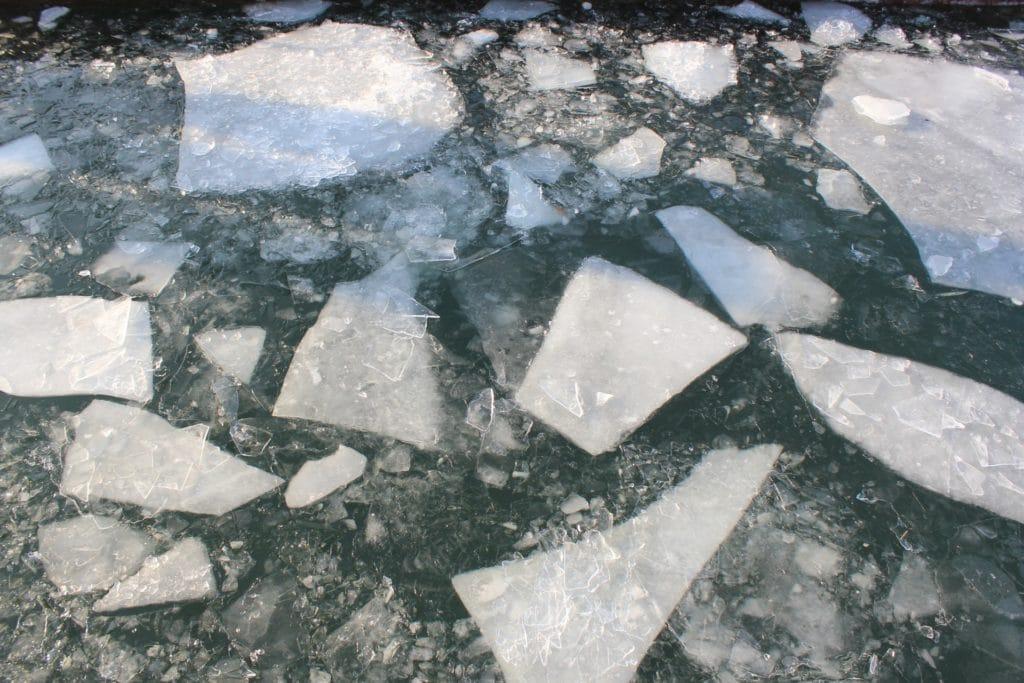 Morceaux de glace