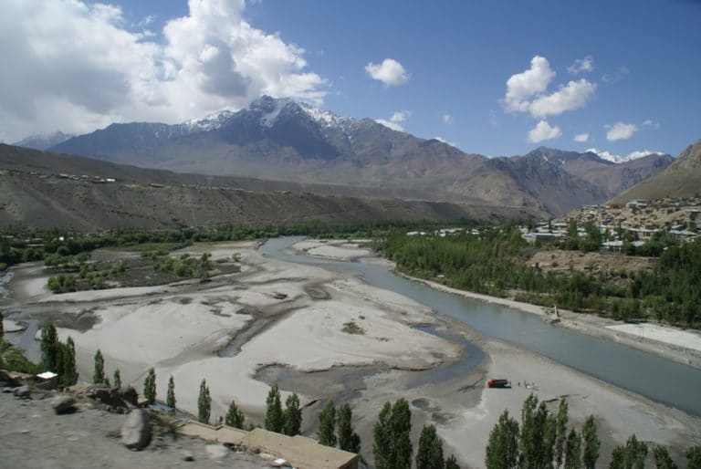 Suru River, near Kargil