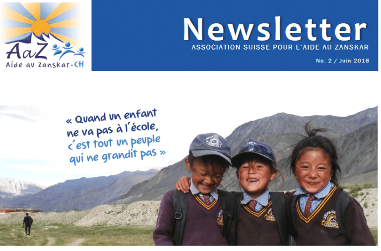 AaZ-CH Newsletter 2 - couverture