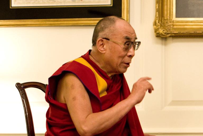 Sa Sainteté, le XIVe Dalaï-Lama