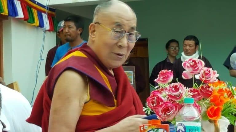 Visite du Dalai-Lama à la LMHS